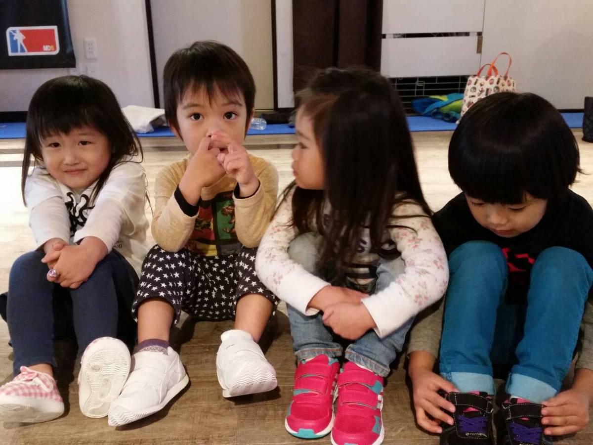 Littleクラスみんな3歳ね♪